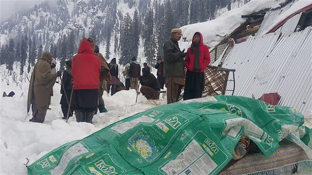 Over 130 killed as avalanches and floods hit Pakistan, Afghanistan