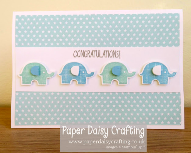 Nigezza Creates with Stampin' Up! & Paper Daisy Crafting & Little Elephant