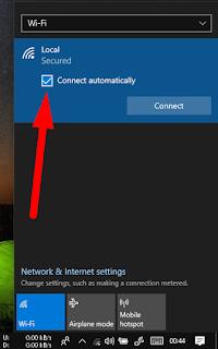Cara Menghubungkan Laptop Windows 10 Ke Jaringan WIFI