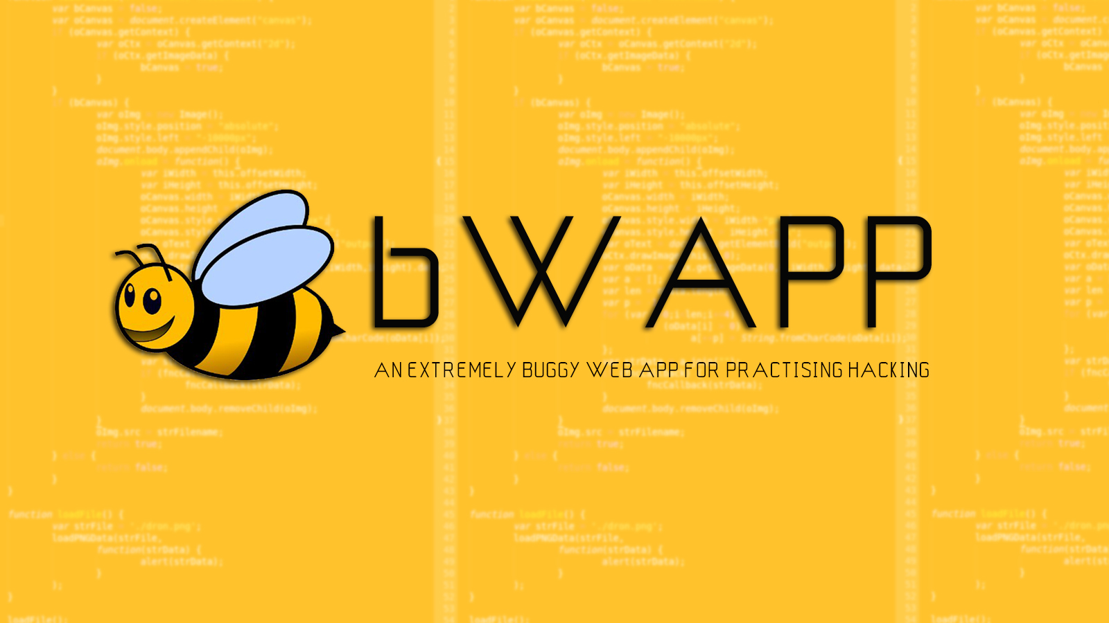 bWAPP - An Extremely Buggy Web App For Practising Hacking