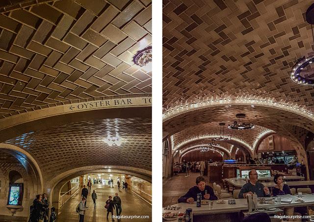 The Oyster Bar, na Grand Central Station, Nova York