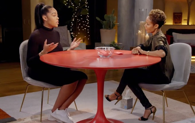 Video:  Jordyn Woods denies cheating with Triston Thompson on 'Red Table Talk, Khloe Kardashian blasts her on Twitter for lying