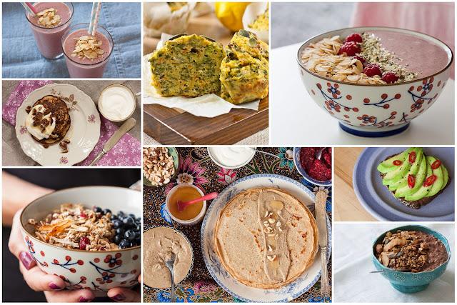 Predlozi za zdrav i zasit doručak - kolaž