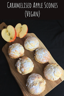 Caramelised Apple Scones (Vegan)