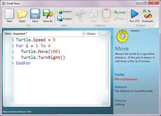 تعلم برمجة الكمبيوتر مع Microsoft Small Basic