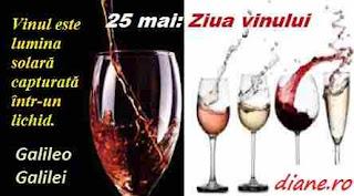 25 mai: Ziua vinului