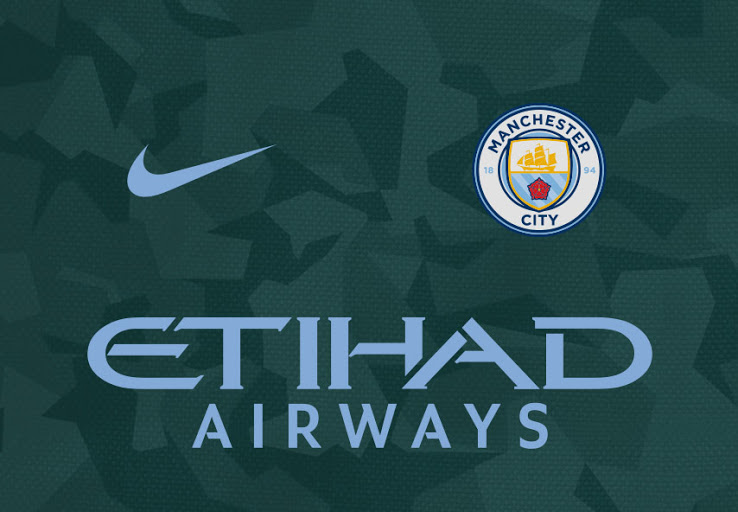 Esta base subestimada de la tercera camiseta Manchester City 2018 será  emparejada con acentos azul cielo para un toque de legado ... ccafa4ec59c72