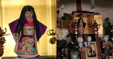 Okiku Doll the Hair Growing Possessed Doll from Japan
