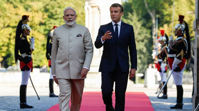 India at G7: A New India-France Bonhomie at Play?