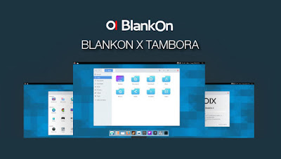 BlankOn Linux Tambora Released