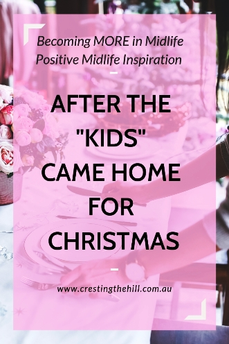 What it's like after the kids have returned for Christmas - expectations and reality. #Christmas #expectations