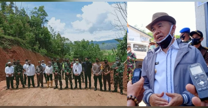 Bupati Adirozal Ucapkan Terima Kasih Atas Kerja Anggota Tmmd Kodim Kerinci