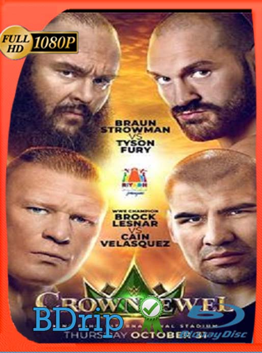 WWE Crown Jewel (2019)  HD [1080p] Latino [GoogleDrive] SilvestreHD
