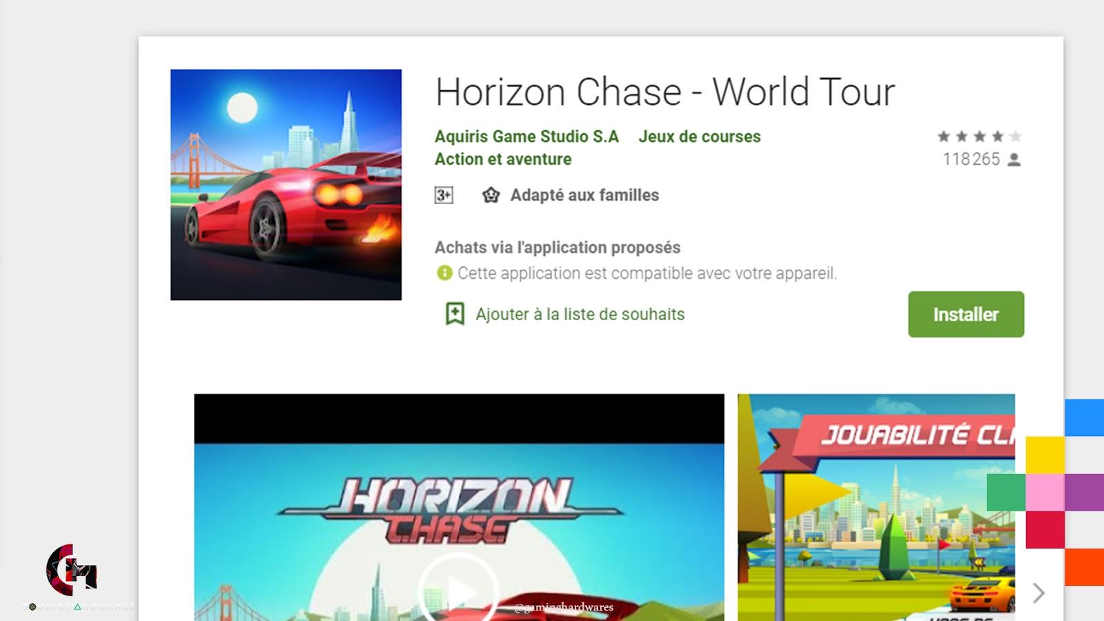 لعبة Horizon Chase – World Tour للأندرويد