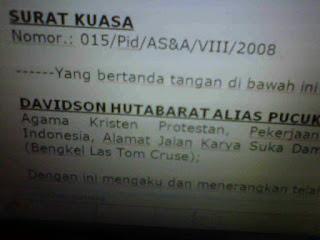 Contoh Lengkap Draft Dan Format Surat Kuasa Khusus Perkara - Kasus Hukum Pidana di Indonesia