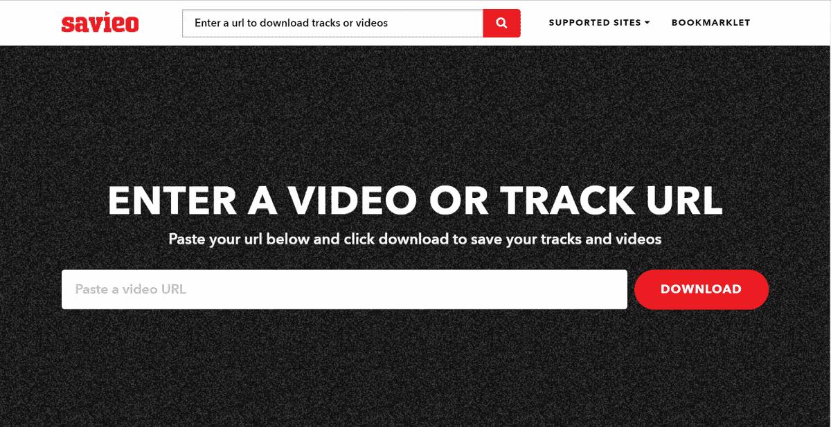 Savieo 按下書籤工具就能儲存網路影片