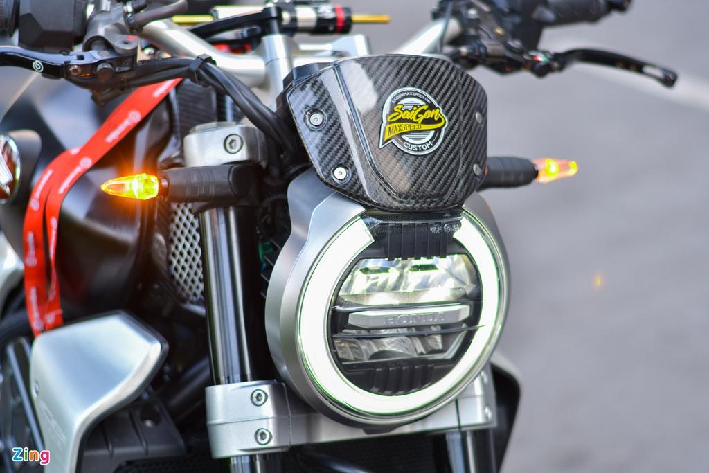 Honda CB1000R với gói độ 200 triệu tại TP.HCM