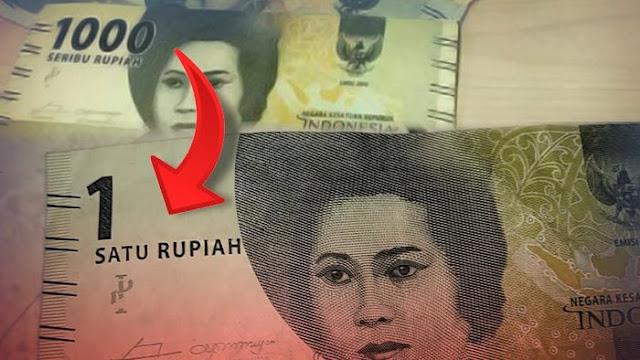 Indonesia akan Ubah Rp 1.000 Jadi Rp 1