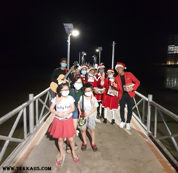 Christmas Carols at Portuguese Settlement Melaka