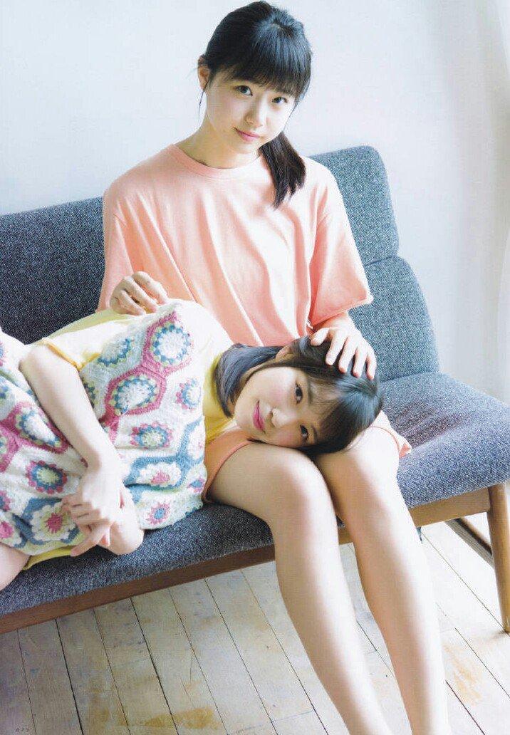 STU48 Takino Yumiko And Iwata Hina On UTB Gravure Vol 257