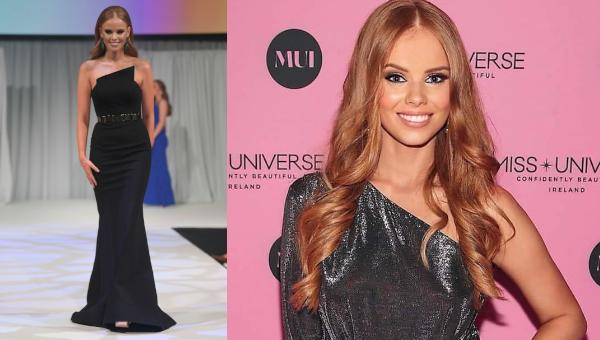Nadia Sayers es Miss Universe Ireland 2020