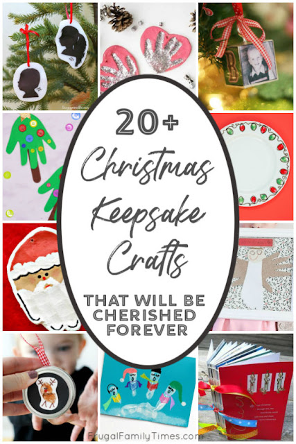 keepsake crafts for Christmas