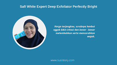 review Safi White Expert Deep Exfoliation Perfectly Bright