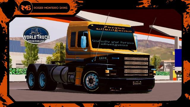 Scania 113H, 113H, Skins, Skins Wtds, Skins World Truck, Pintura Personalizada
