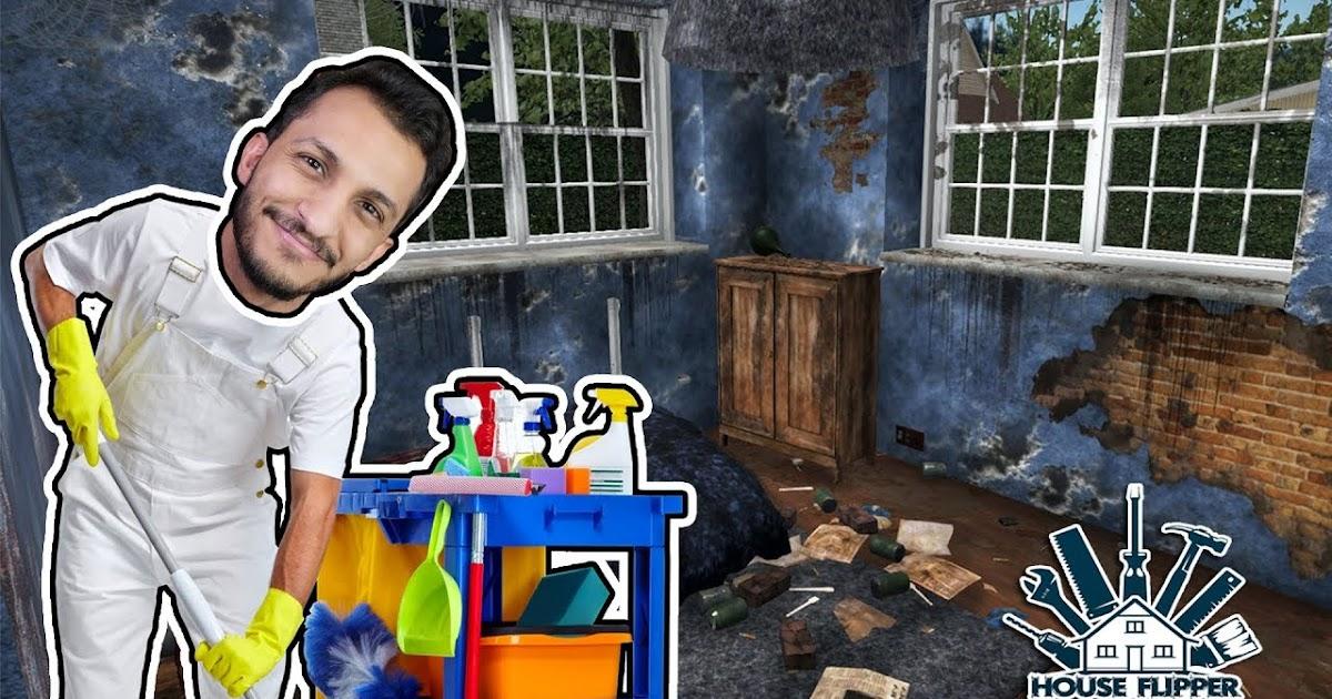 تحميل لعبة تنظيف البيوت House Flipper