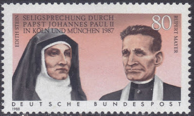 West-Germany 1988 Beatification of Edith Stein & Rupert Mayer