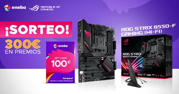 Sorteio Placa Mãe Gaming + Giftcard de €100 euros