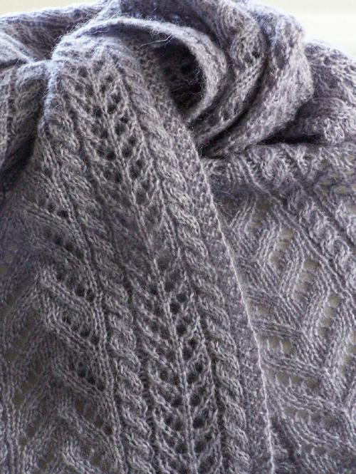 Easy as Pie Scarf - Knitting Pattern