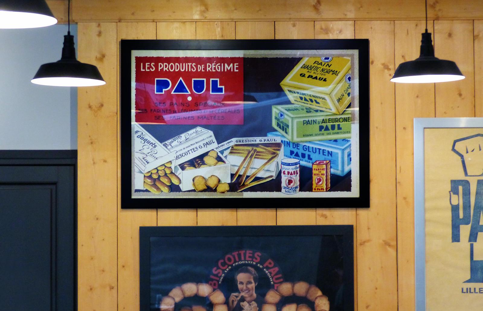Paul Tourcoing Auchan City - Affiche