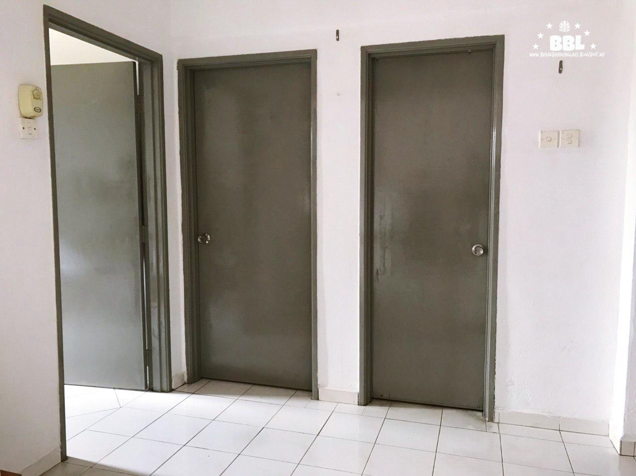 Cat Pintu Warna Kelabu