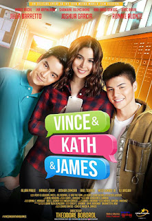The story of two lovestruck teens, Vince (Joshua Garcia) and Kath (Julia Barretto), plays out through text messages.