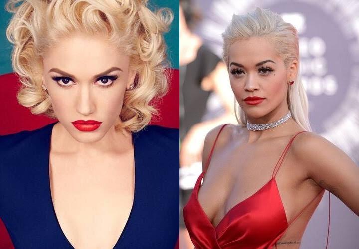 Gwen Stefani Rita Ora