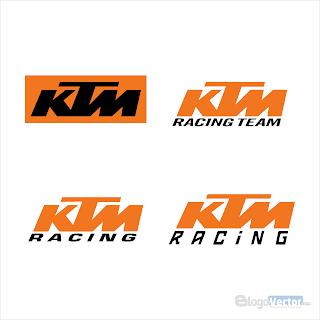 KTM Racing Logo vector (.cdr)