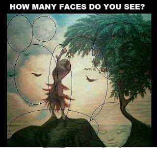 Hidden Faces Brain Teaser Answer