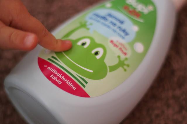 Bupi detské mydlo na ruky so šalviou