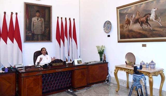 Presiden Jokowi Minta Evaluasi dan Perbaiki Pelaksanaan PSBB