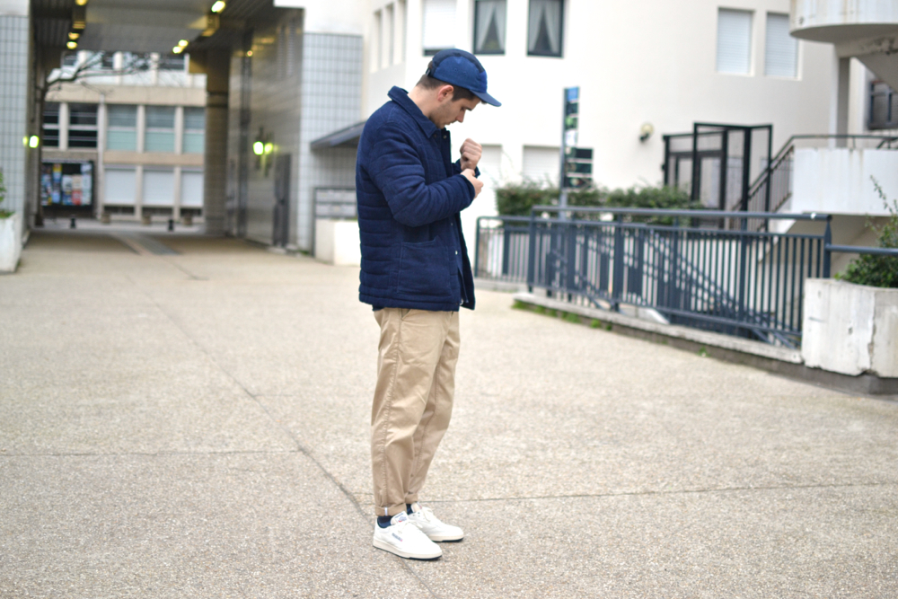 comment taille Norse Projects aros heavy chino