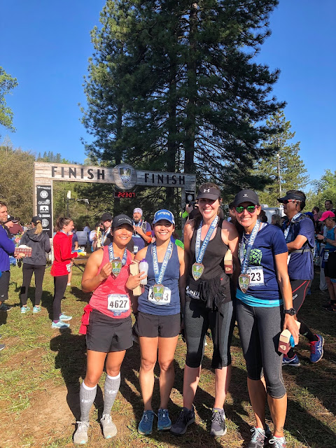 Yosemite Half finish photo