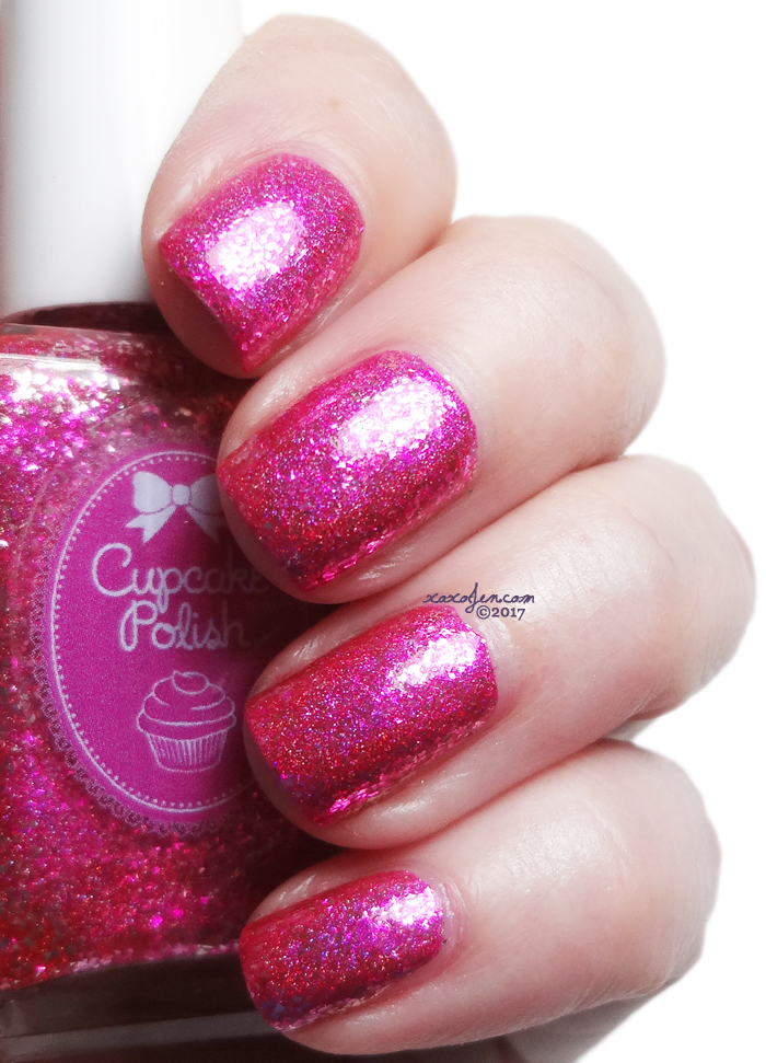 xoxoJen's swatch of Cupcake Cyberpink