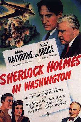 Sherlock Holmes in Washington Poster