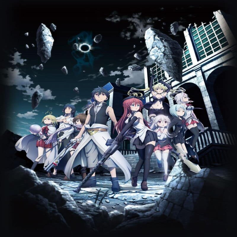 فلم أنمي Trinity Seven Movie 1 Eternity Library to Alchemic Girl مترجم أونلاين