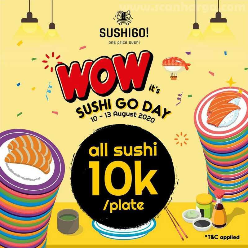 Promo SushiGo Terbaru All Sushi Only 10K / Plate