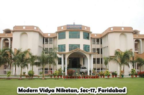 Modern Vidya Niketan, Sec-17, Faridabad