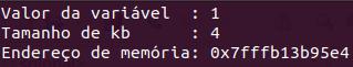 Endereço de memória em C++
