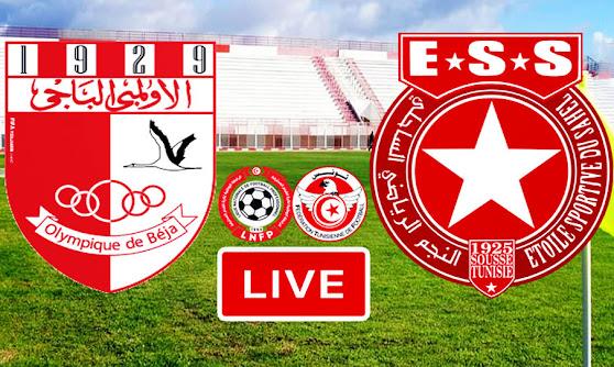 Ligue 1 Tunisie Match Olympique De Beja vs Etoile Du Sahel Live Stream