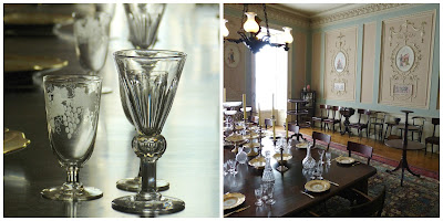 The dining room, Calke Abbey